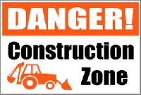 construct21 Construction Signs