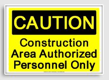construct5 Construction Signs