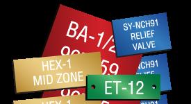 custom aluminum plates Industrial Signs